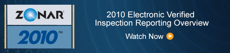 2010 Electronic Verified Inspection Reporting Overview