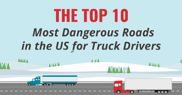Top 10 Most Dangerous Roads In The Us For Truck Drivers