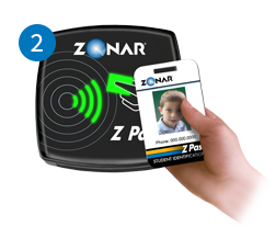 Scan Card using the Z Pass Card Reader