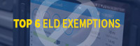 Top 6 ELD Exemptions