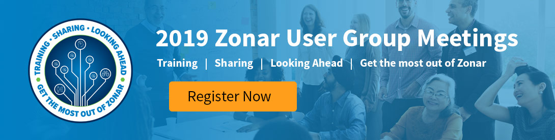 2019 Zonar User Group Meetings