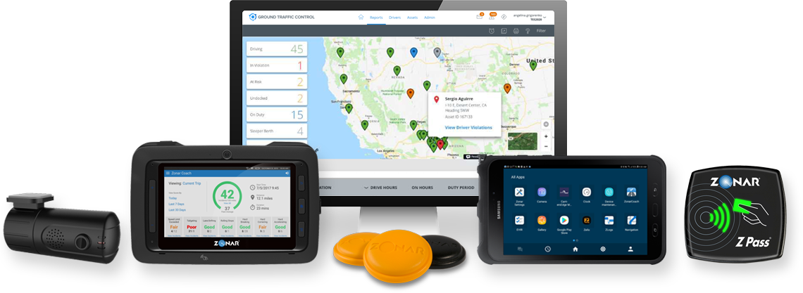 Zonar Fleet Tracking and GPS Products and Solutions