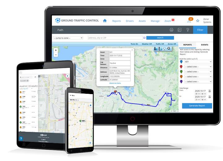 Zonar Smart Fleet Management Platform